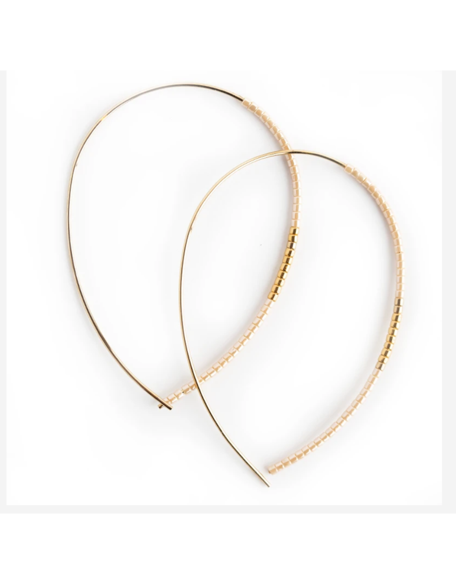 L&E Norah Earrings, blush
