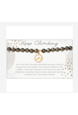 L&E Token Stretch Bracelet, Mountain