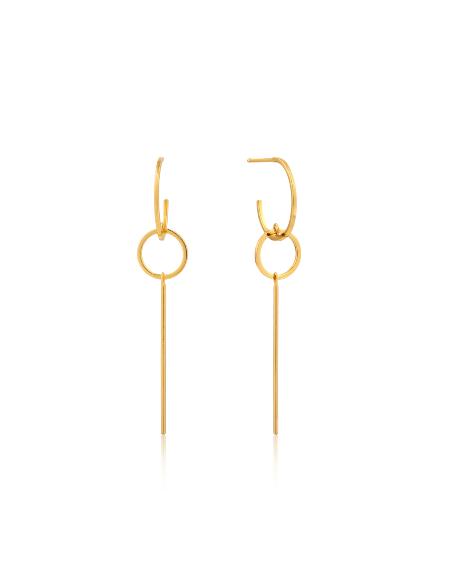 Ania Haie Modern Solid Drop Earrings