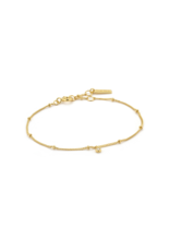 Ania Haie Shimmer Single Stud Bracelet, gold