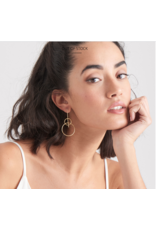 Ania Haie Solid Drop Earrings, gold