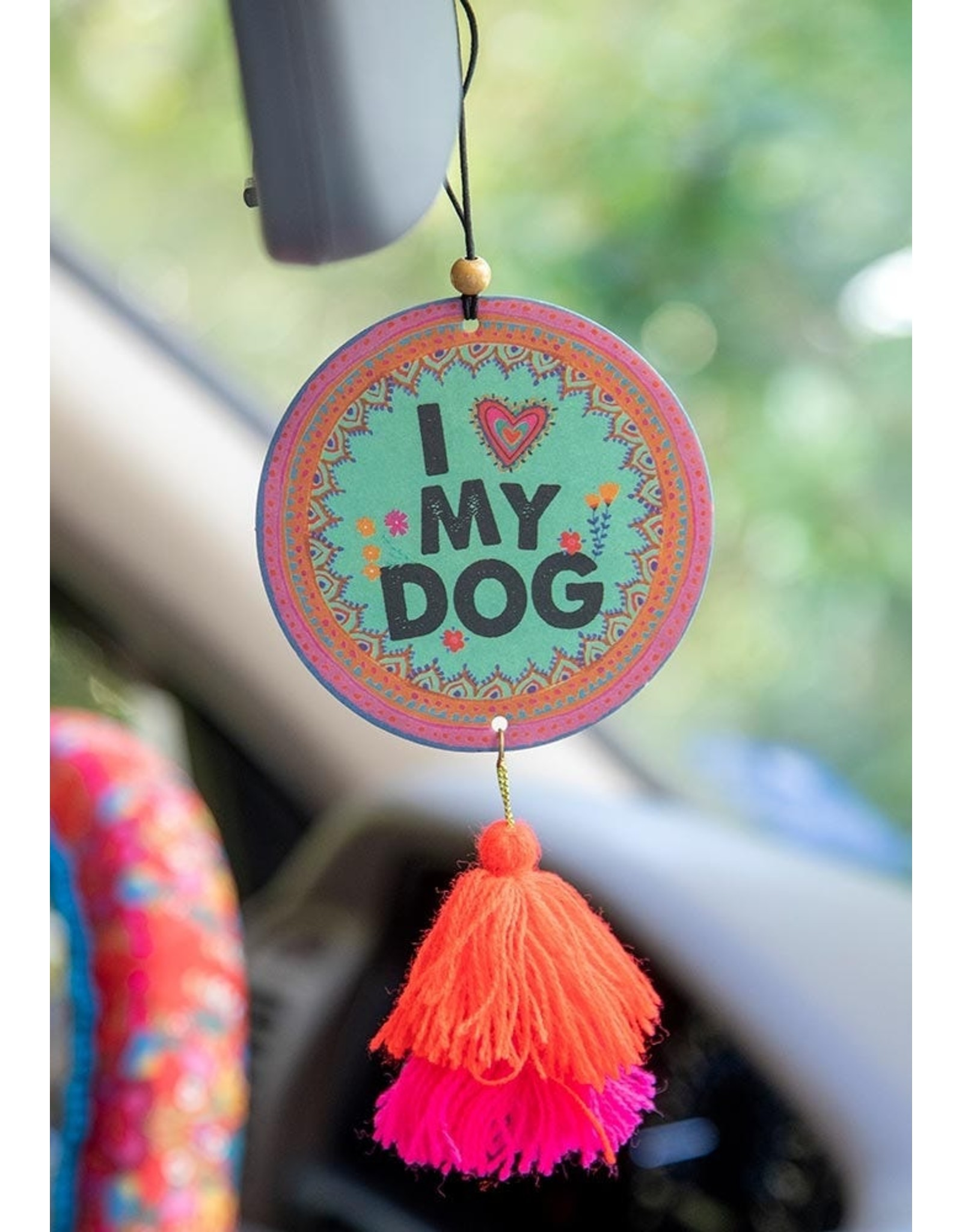 Natural LIfe Air Freshener, I Heart My Dog