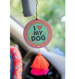 Natural LIfe Air Freshener, I Heart My Dog