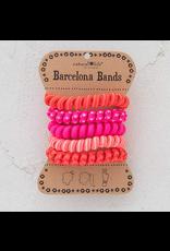 Natural LIfe Paracord Barcelona Bands, pink