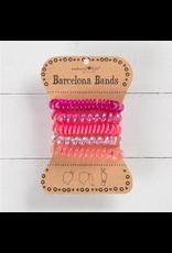 Natural LIfe Barcelona Hair Bands, pink