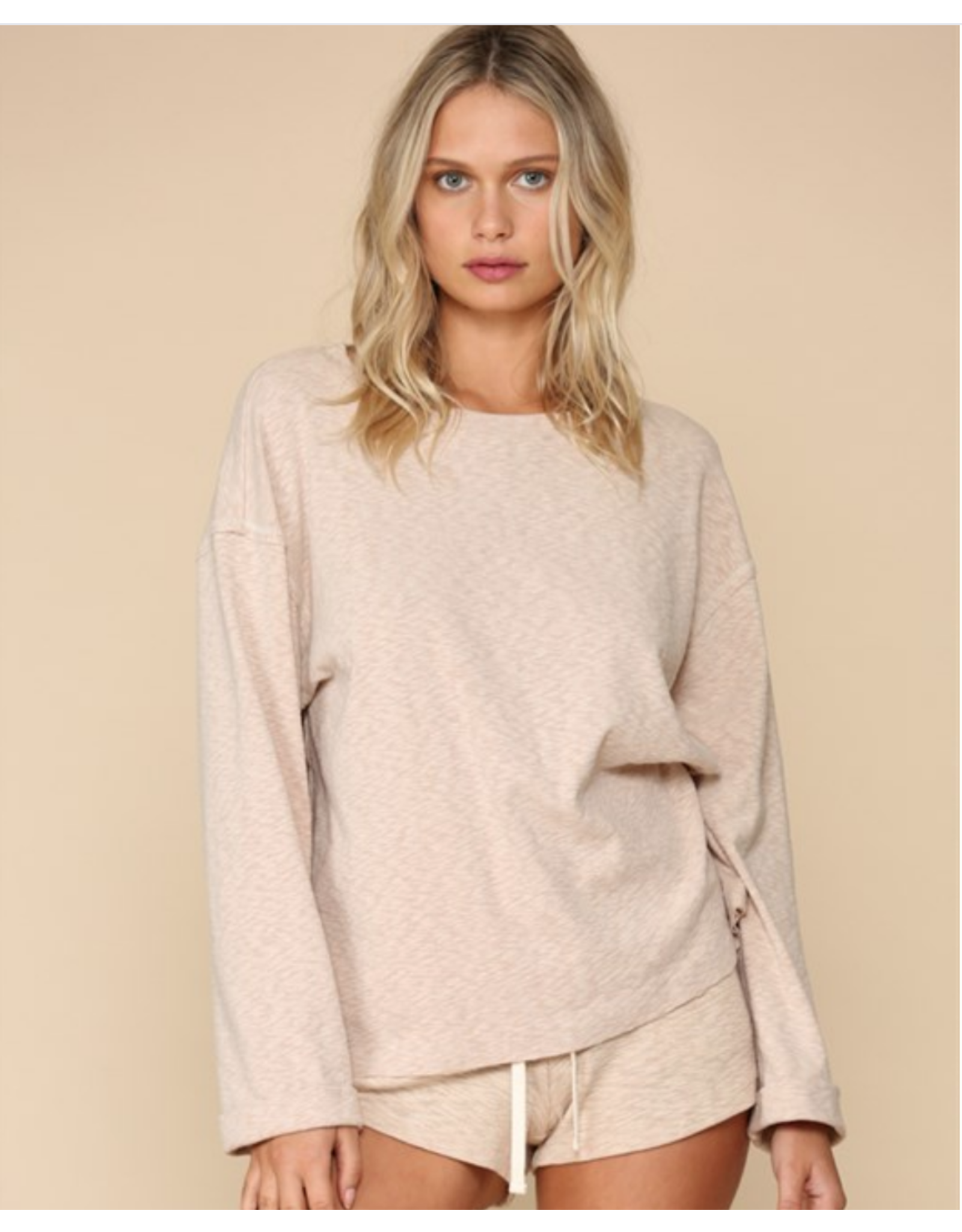 Long Sleeve Knit Sweater Top