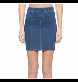 High Rise Pull On Skirt