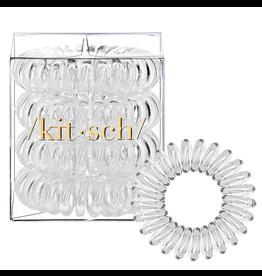 Kitsch Hair Coils 4 Pack, transparent