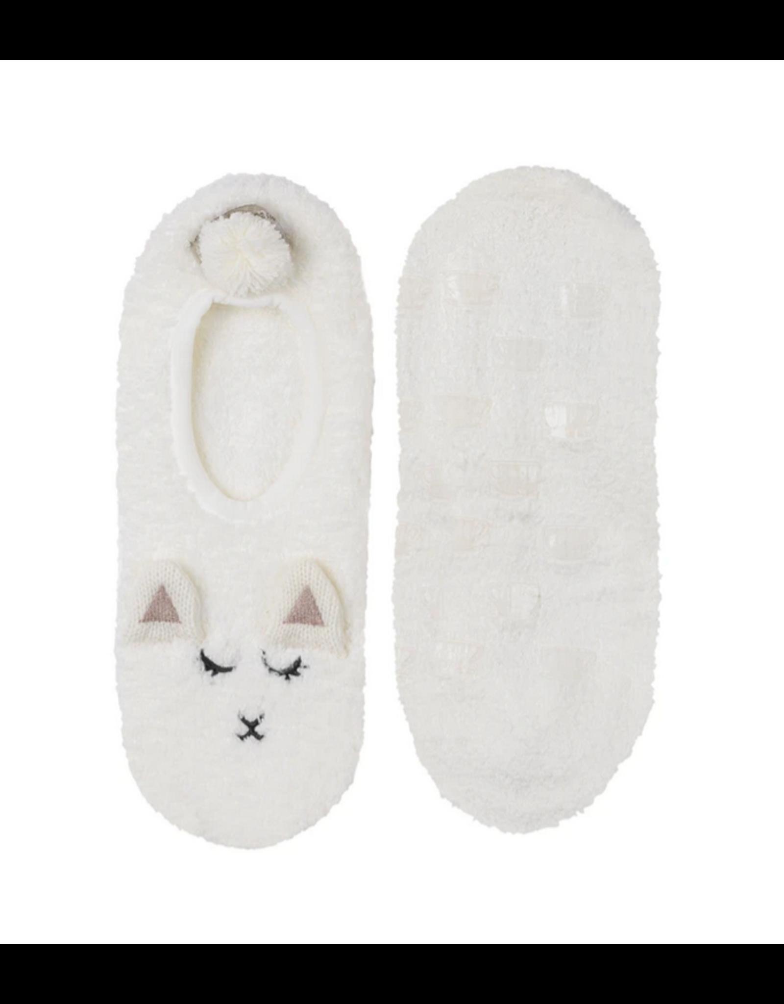 Marshmallow Lamb Footlet L/XL