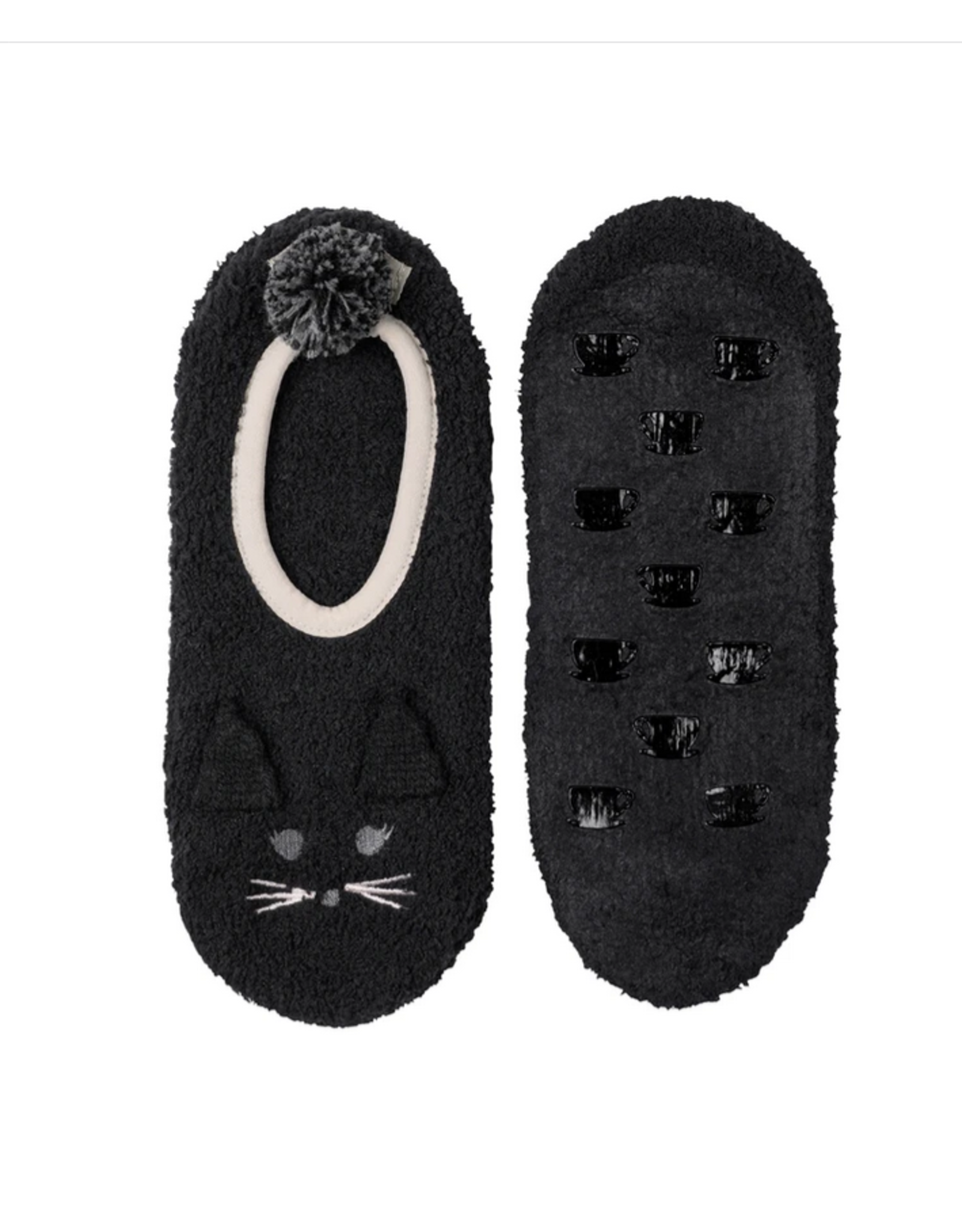 Marshmallow Cat Footlet L/XL
