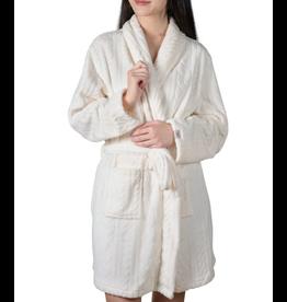 Dreamy Day Textured Robe, whisper white S/M