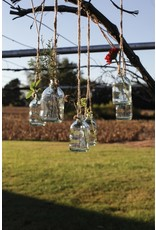 "4 1/2"" Glass Hanging Bottle"