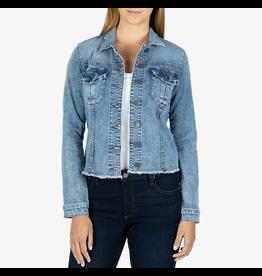 Kara Denim Jacket, no waist