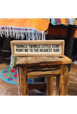 Twinkle Twinkle Little Star Box Sign
