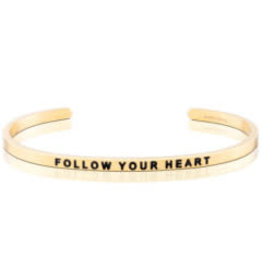 MantraBand MantraBand Bracelet, Follow Your Heart