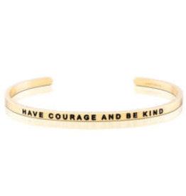 MantraBand MantraBand Bracelet, Have Courage And Be Kind