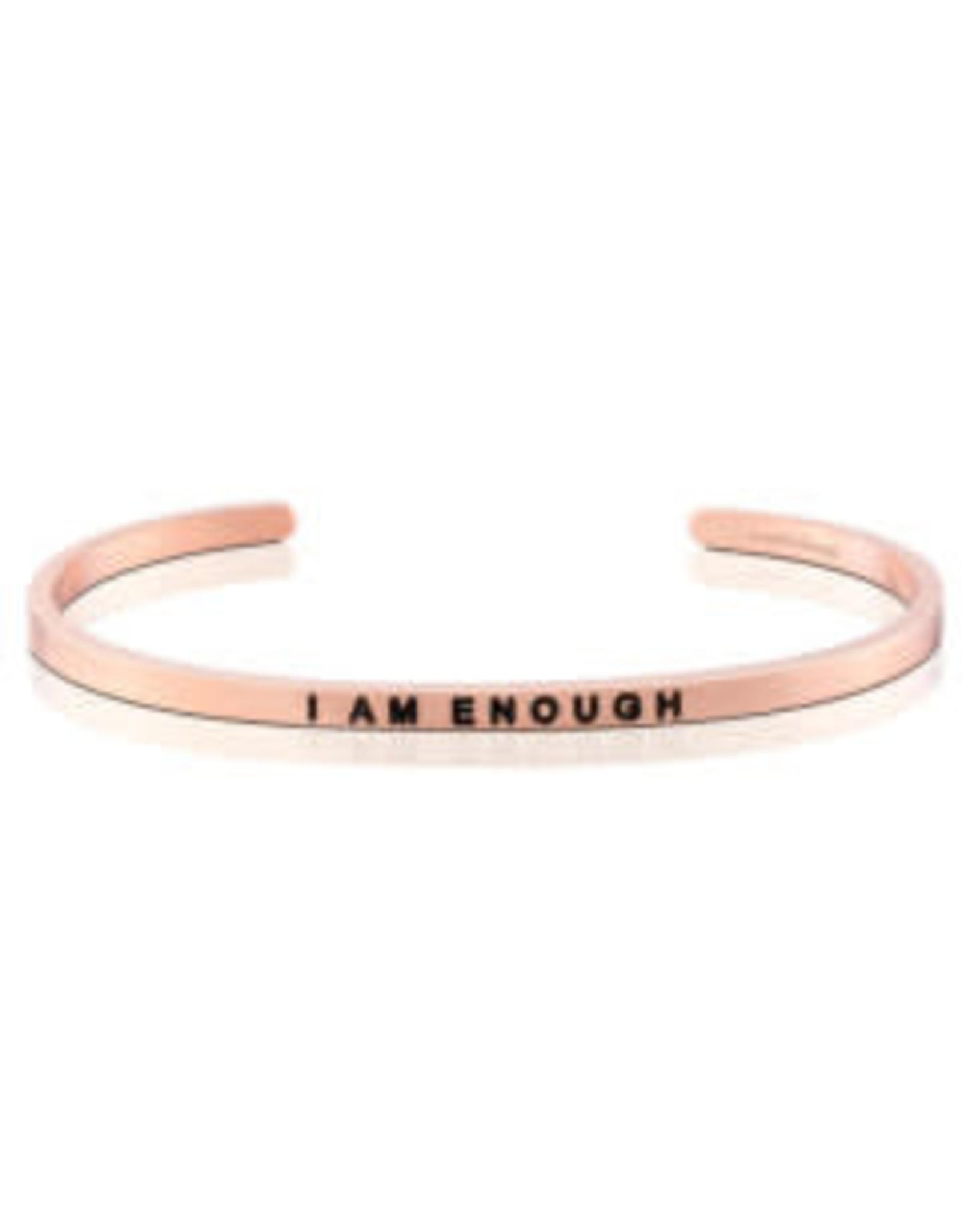 MantraBand MantraBand Bracelet, I Am Enough