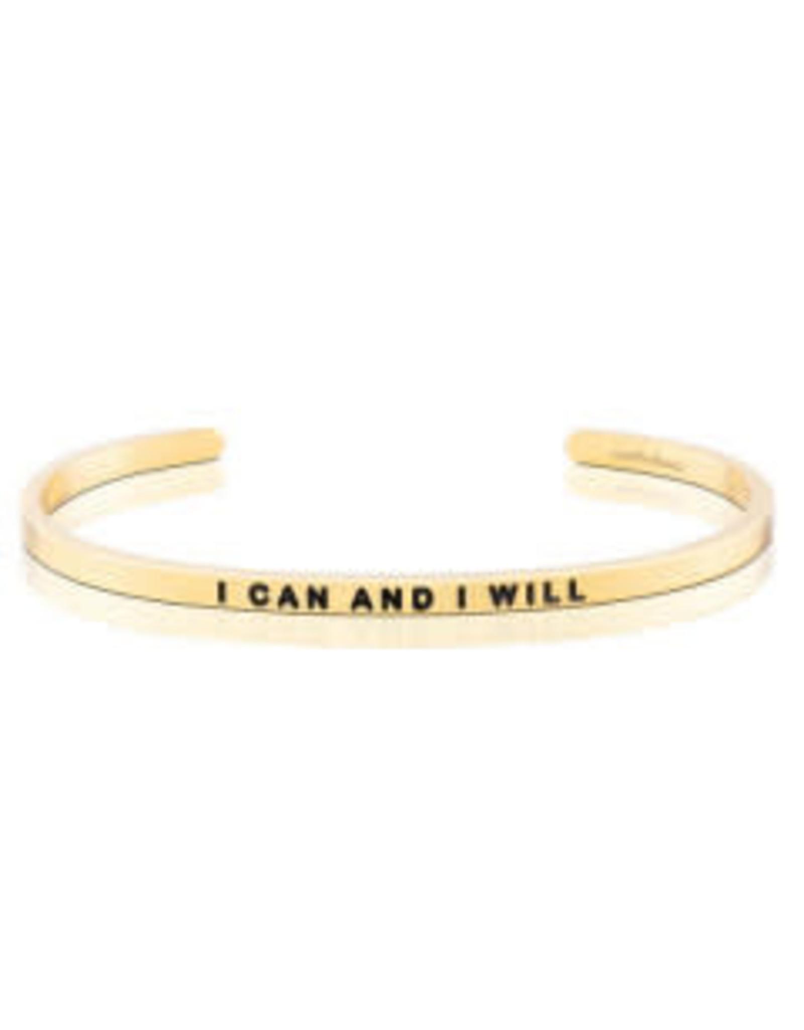 MantraBand MantraBand Bracelet, I Can And I Will