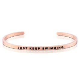 MantraBand MantraBand Bracelet, Just Keep Swimming