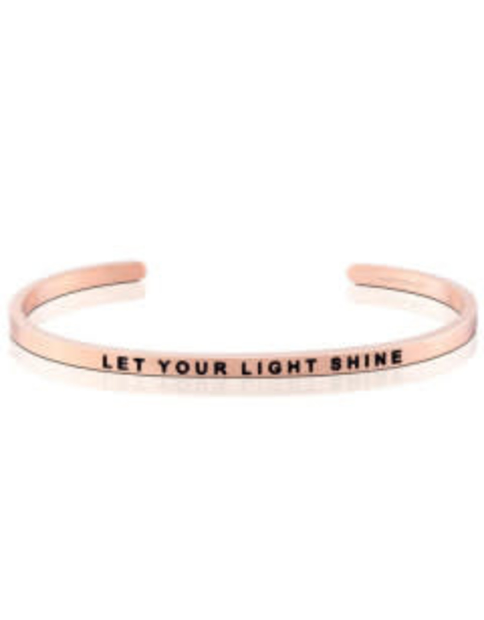 MantraBand MantraBand Bracelet, Let Your Light Shine