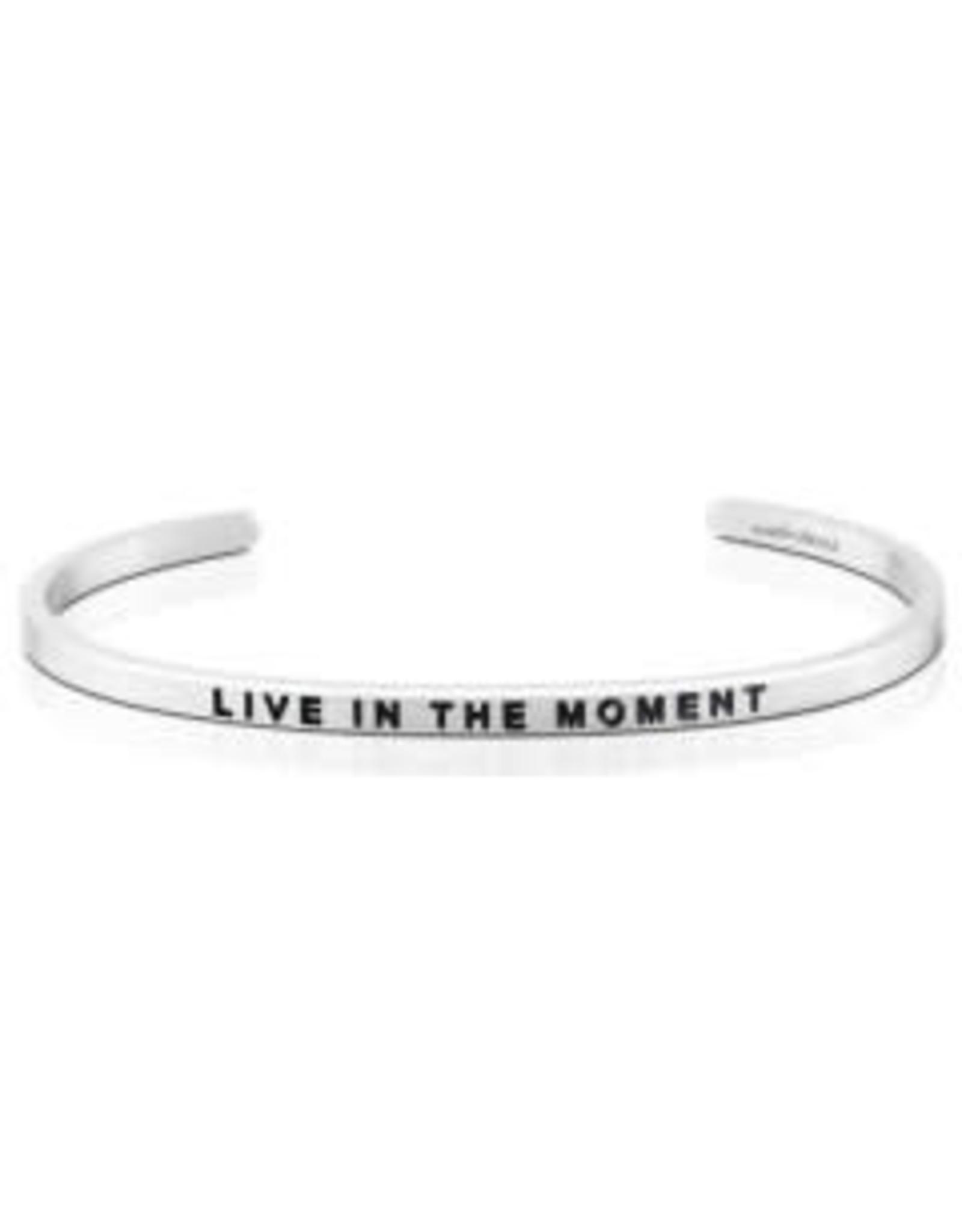 MantraBand MantraBand Bracelet, Live In The Moment