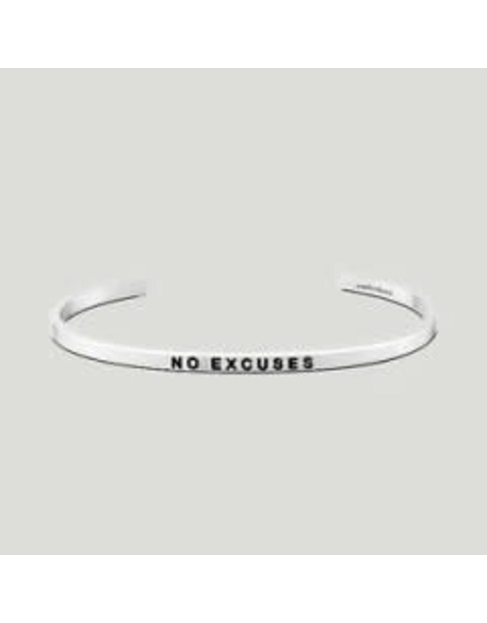 MantraBand MantraBand Bracelet, No Excuses