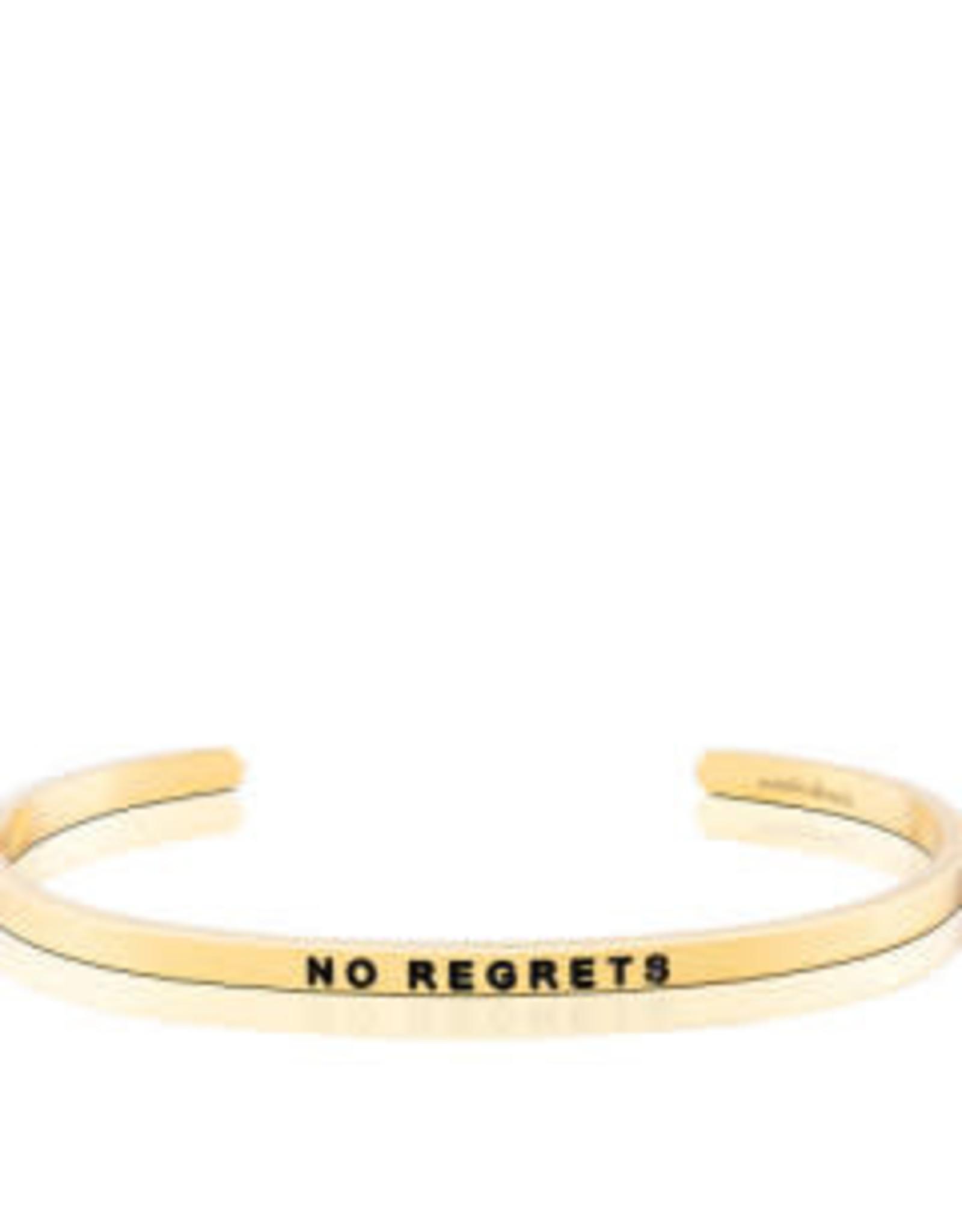 MantraBand MantraBand Bracelet, No Regrets