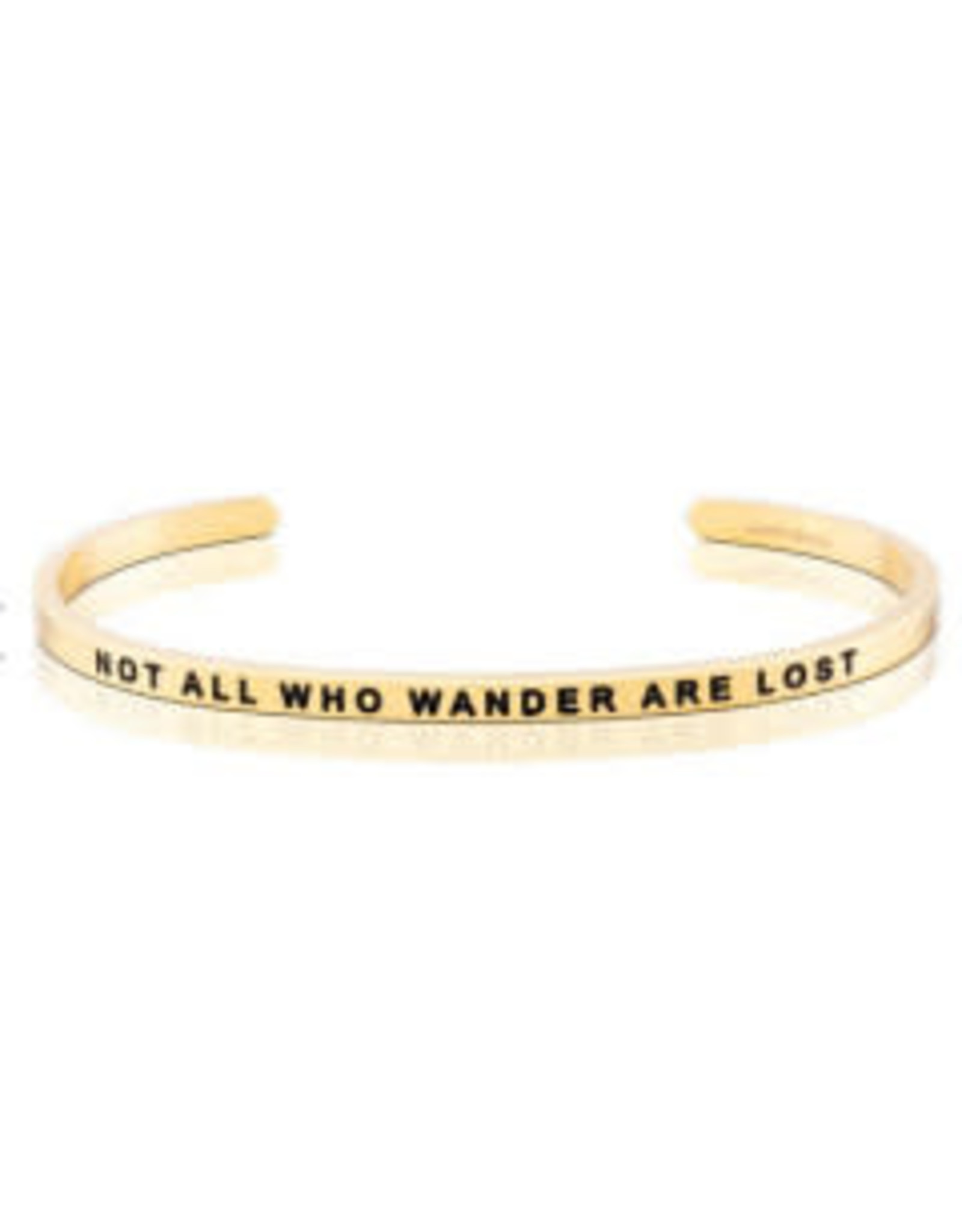 MantraBand MantraBand Bracelet, Not All Who Wander Are Lost