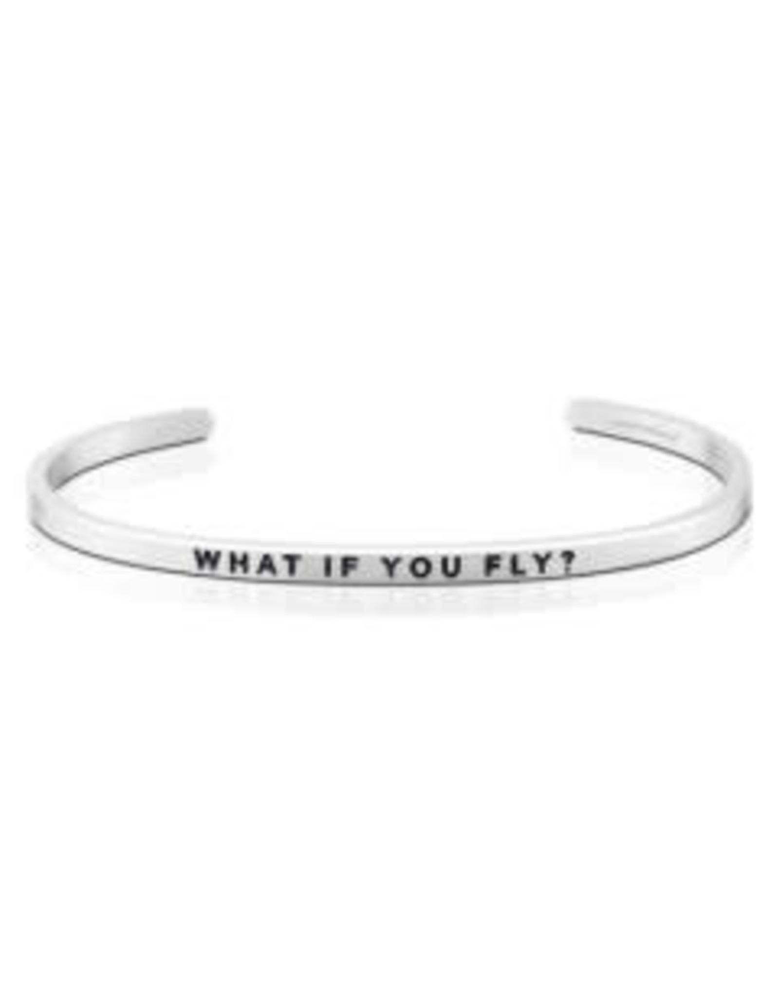 MantraBand MantraBand Bracelet, What If You Fly?