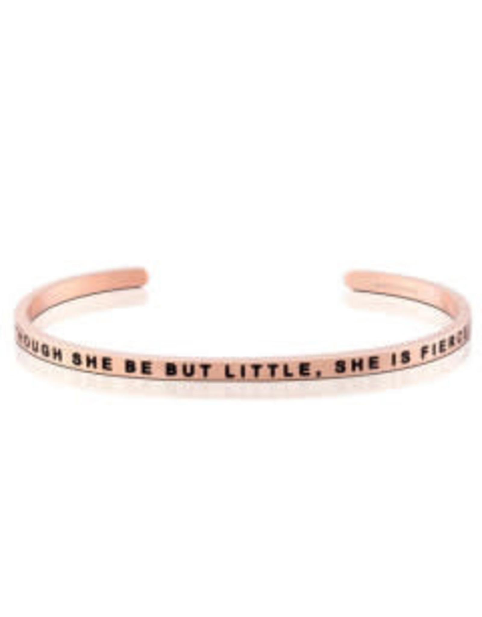 MantraBand MantraBand Bracelet, Though She Be But Little She Is Fierce