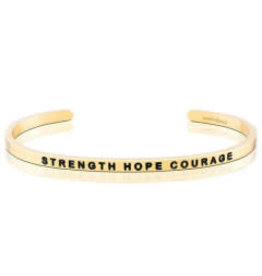 MantraBand MantraBand Bracelet, Strength Hope Courage
