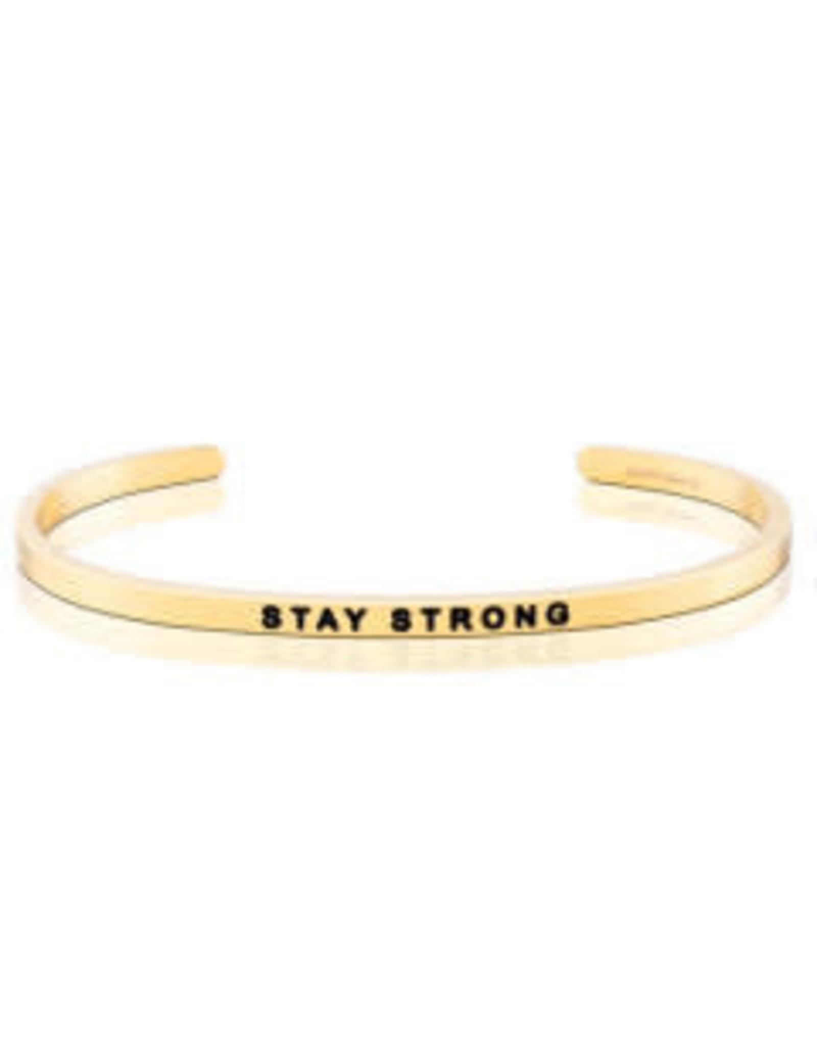 MantraBand MantraBand Bracelet, Stay Strong