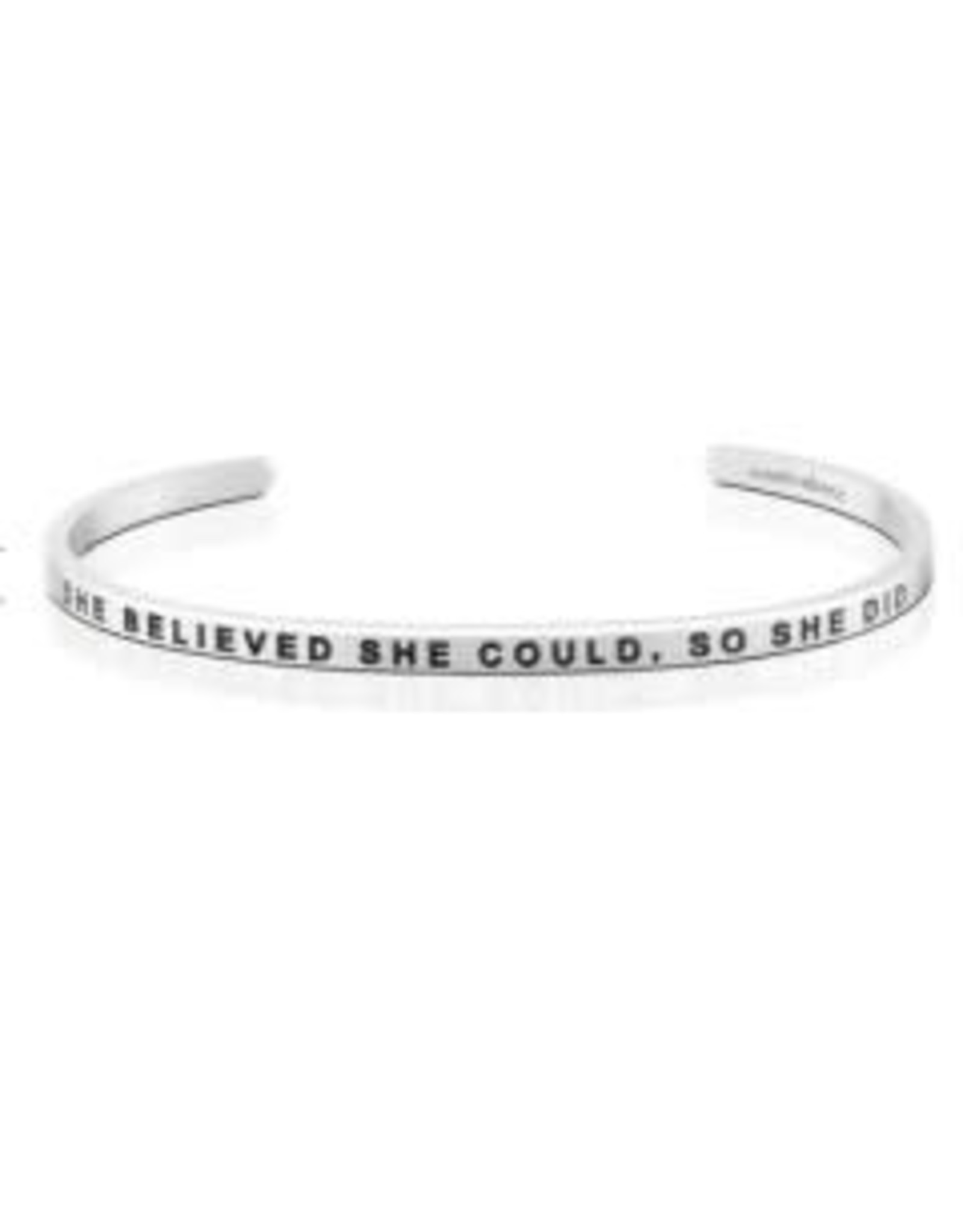 MantraBand MantraBand Bracelet, She Believed She Could So She Did