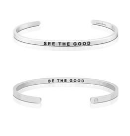 MantraBand MantraBand Bracelet, See The Good Be The Good