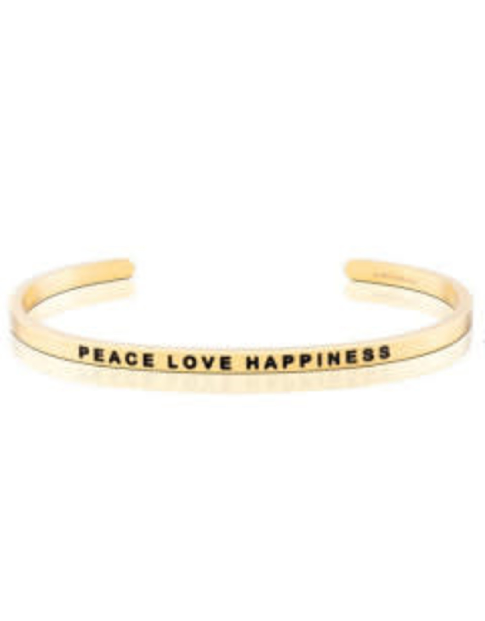 MantraBand MantraBand Bracelet, Peace Love Happiness