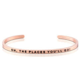 MantraBand MantraBand Bracelet, Oh The Places You'll Go