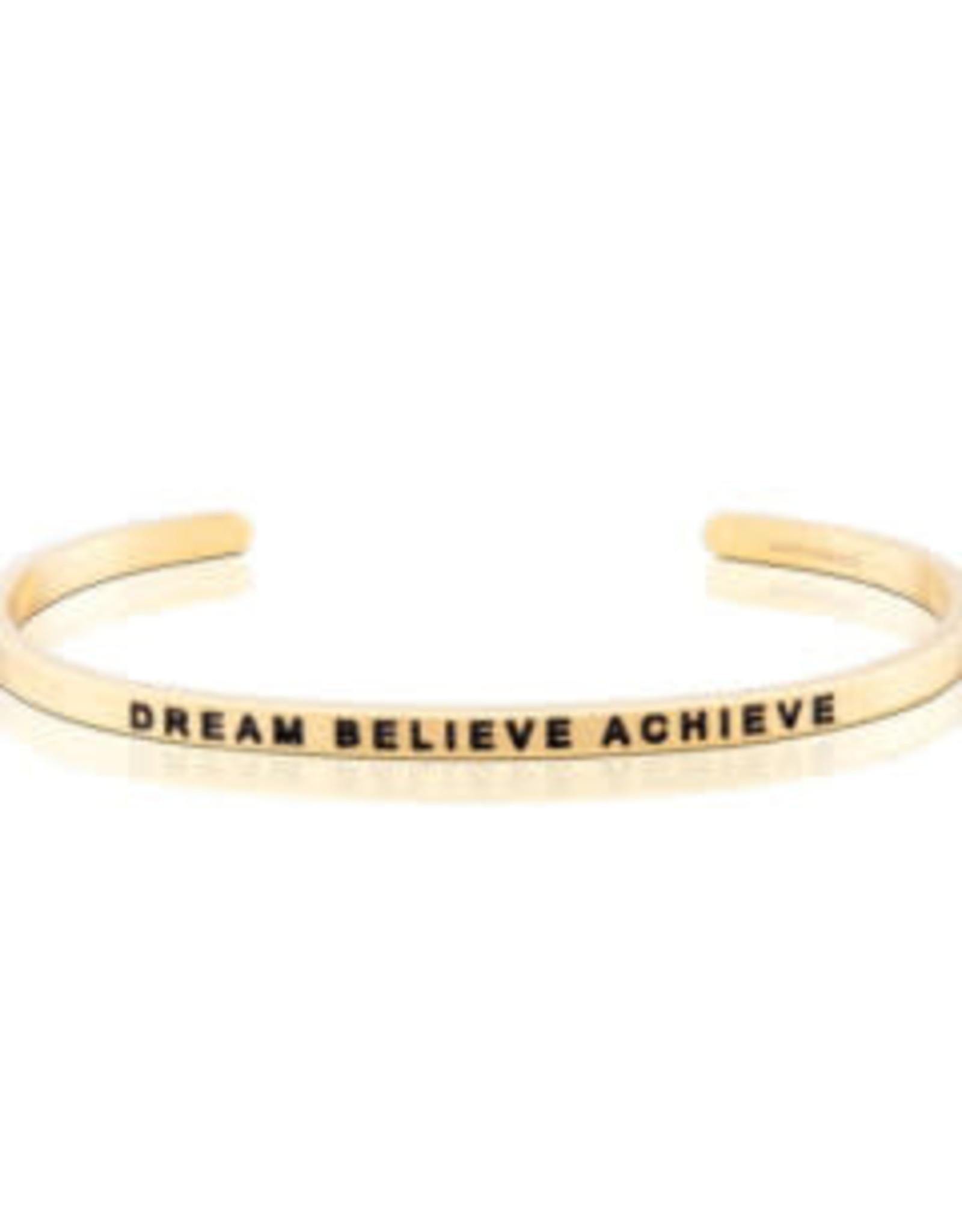 MantraBand MantraBand Bracelet, Dream Believe Achieve