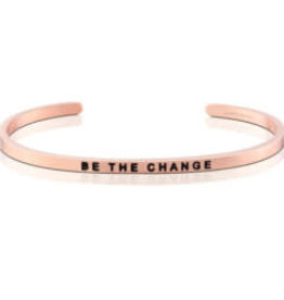 MantraBand MantraBand Bracelet, Be The Change