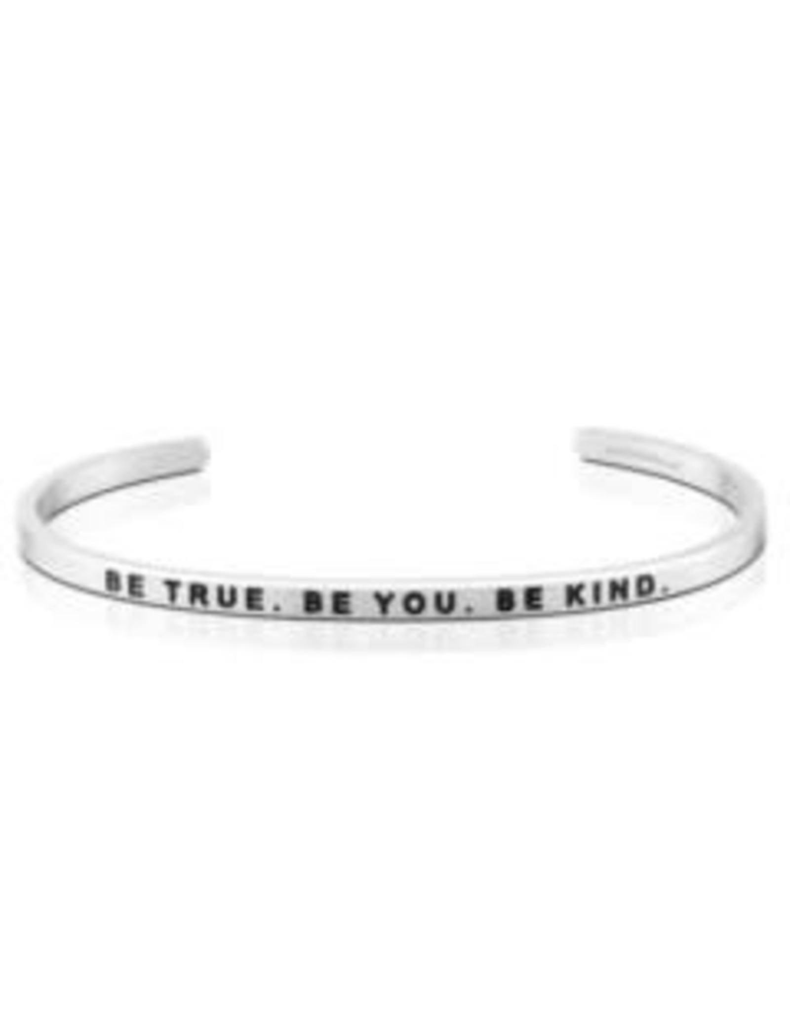 MantraBand MantraBand Bracelet, Be True Be You Be Kind