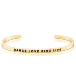 MantraBand MantraBand Bracelet, Dance Love Sing Live