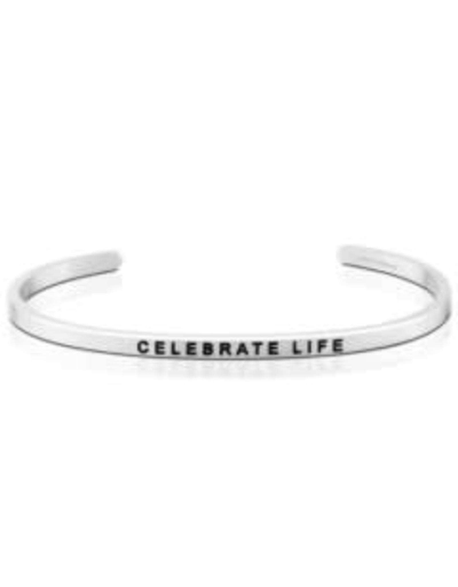 MantraBand MantraBand Bracelet, Celebrate Life