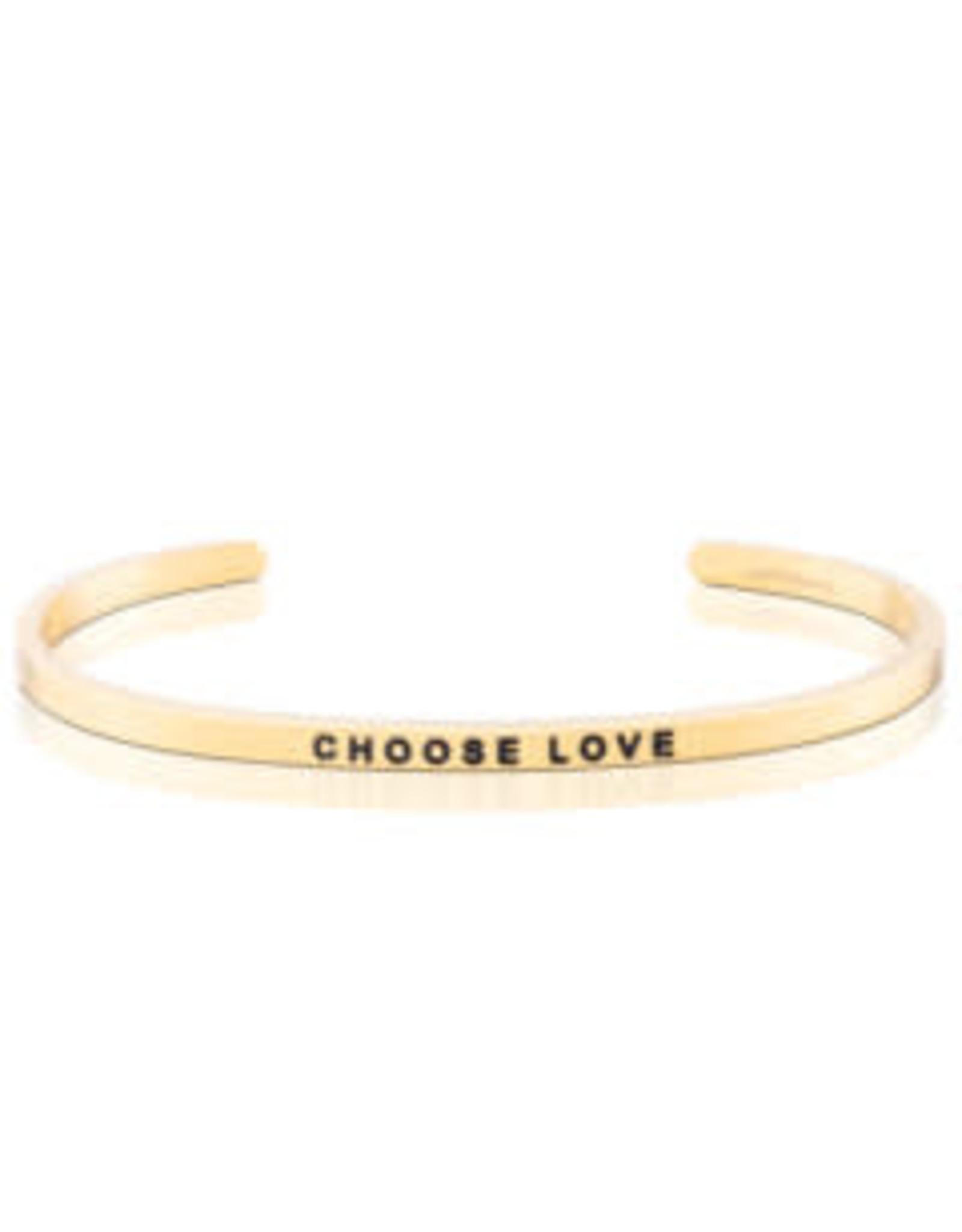 MantraBand MantraBand Bracelet, Choose Love