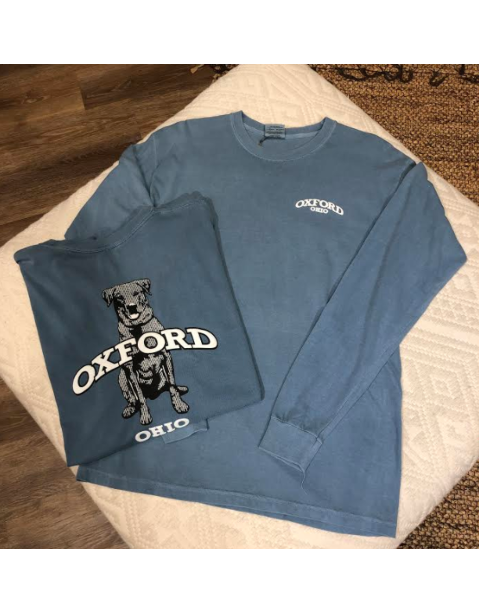 "Oxford"" LS Tee"