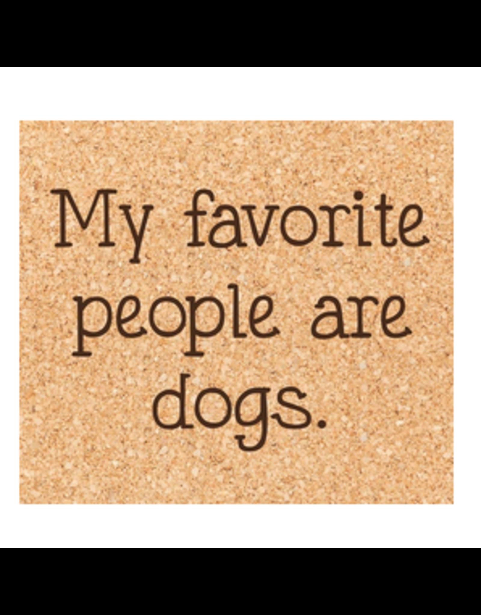 Cork Coaster, Favorite People