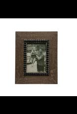 Wood Photo Frame, Natural and Black
