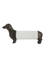 Resin Dog Paper Towel Holder