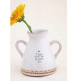 Natural LIfe Artisan Bud Vase, Choose You