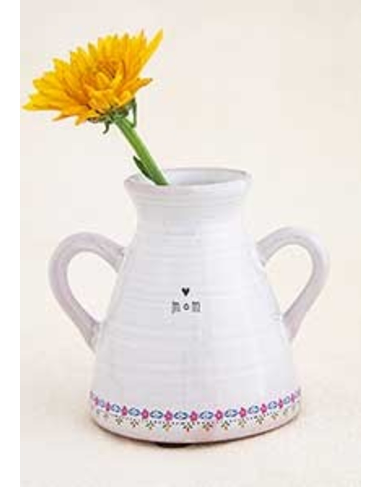 Natural LIfe Artisan Bud Vase, Mom