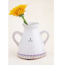 Natural LIfe Artisan Bud Vase, Mom