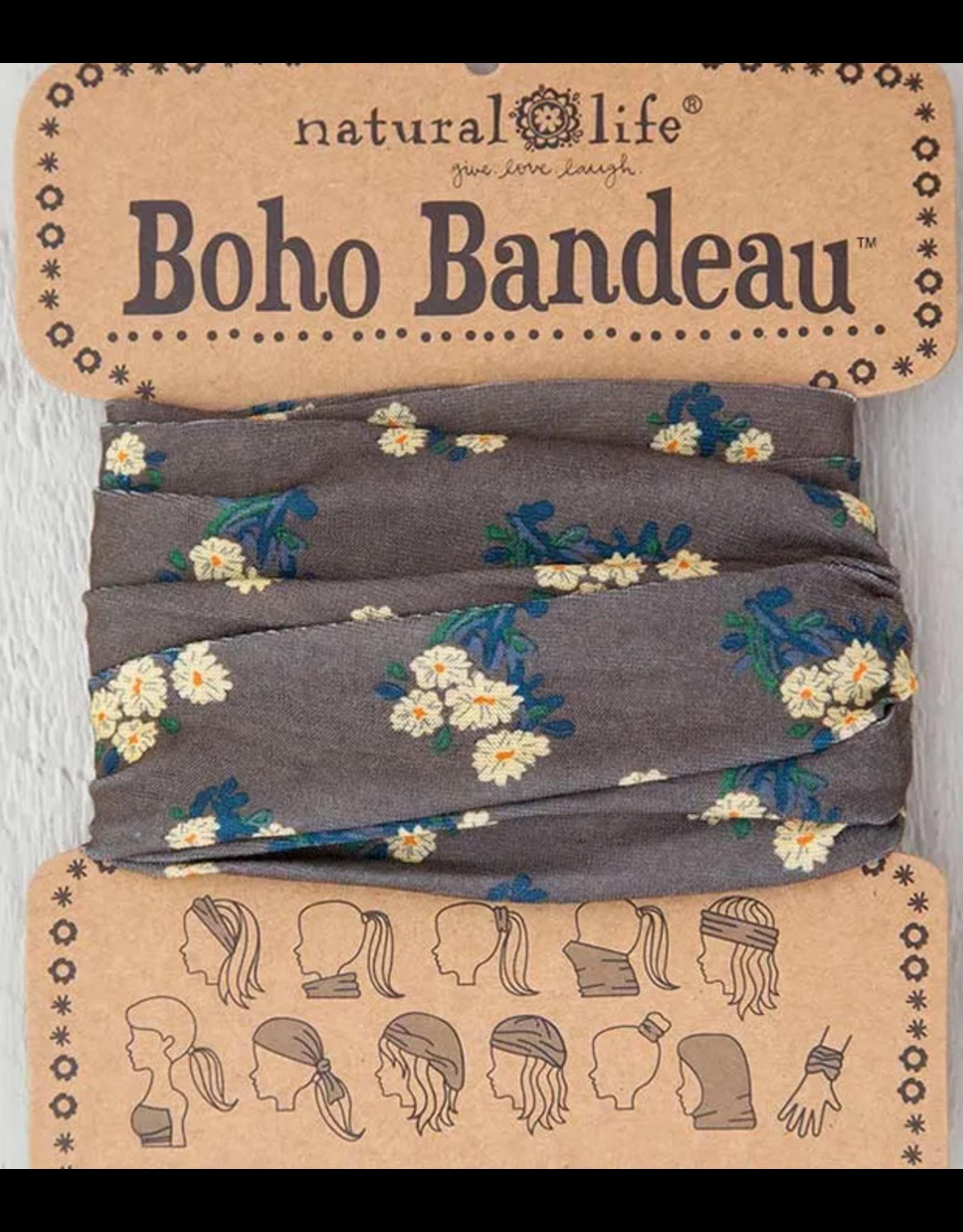 Natural LIfe Boho Bandeau, Cocoa Daisies